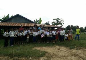 CAMBOGIA: INIZIATI I NUOVI LAVORI!