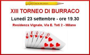 XIII TORNEO DI BURRACO