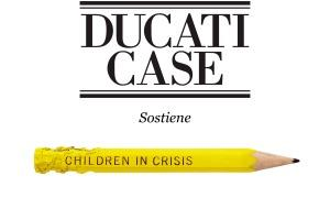 DUCATI CASE SOSTIENE CHILDREN IN CRISIS ITALY