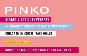 PINKO CHARITY SHOPPING DAY