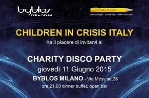 CHARITY DISCO PARTY