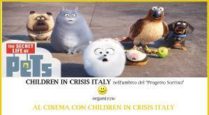 AL CINEMA CON CHILDREN IN CRISIS
