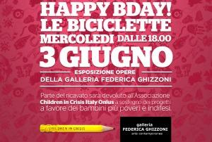 HAPPY B DAY LE BICICLETTE